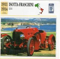 Fiche Technique Voiture 1911 / 1914 ISOTTA FRASCHINI KM4 - Automobili