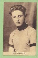 Flander HOREMANS. 2 Scans. Edition Sportkaarten Frank Nels - Cyclisme
