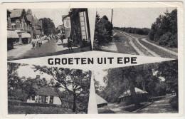 Epe - Hoofdstraat, Wachtelenberg, Landgoed Tongeren (1950)   - Holland/Nederland  (2 Scans) - Epe