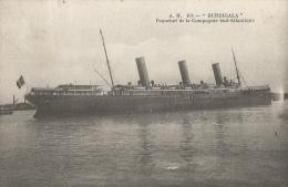 Burdigala - Paquebot De La Compagnie Sud-Atlantique - Piroscafi