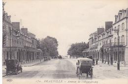 23015 Deauville France -avenue De L´hippodrome -ELD 152 Vieille Voiture - Voitures De Tourisme