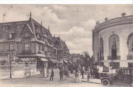 23016 France 14 Deauville - La Rue Gontaut Biron-LL 216 Vieille Voiture - Voitures De Tourisme