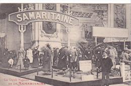 23017 La Samaritaine Grands Magasins Au Salon Automobile 1906 -deley Paris France -vetement Conducteur - Cartes Postales