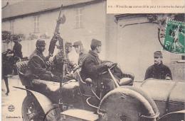 23018 MITRAILLEUSE AUTOMOBILE POUR TIR CONTRE LES AEROPLANES -112 L.G. France  Soldat