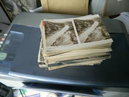LOT DE 210 CARTES POSTALES ANCIENNES ET PETITES SEMI MODERNES DE L'AISNE (02)   1 - 100 - 499 Cartoline