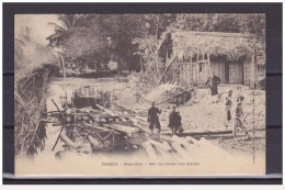 Indochine Indochina Vietnam Viet Nam Vintage Postcard : Nam Dinh - Vietnam