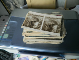 LOT DE 204 CARTES POSTALES ANCIENNES ET PETITES SEMI MODERNES DE L'AISNE (02)  2 - 100 - 499 Cartes