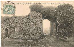 Cpa79 Chapelle St Laurent Ruines Chateau Des Mothes - Andere Gemeenten