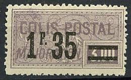 Colis Postaux *n° 39 - 1F 35 S. 3F Violet . - Colis Postaux