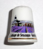 De A Coudre En Porcelaine Abbaye De Senanque - Gordes - Dedales