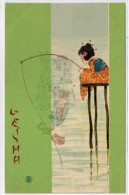 KIRCHNER - Geisha - Pécheuse A La Ligne   (64466) - Kirchner, Raphael