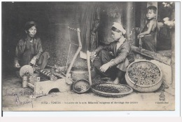 Indochine Indochina Vietnam Viet Nam Vintage Postcard : Tonkin - Vietnam
