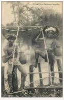 Indochine Indochina Vietnam Viet Nam Vintage Postcard : Fisher - Vietnam