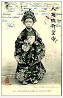 Indochine Indochina Vietnam Viet Nam Vintage Postcard : Duy Tan King - Vietnam