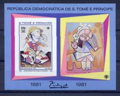 SAO TOME AND PRINCIPE 1981  Picasso (imperforated) - Picasso