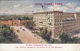 Hotel Flora - Rome 1923 - Roma (Rom)