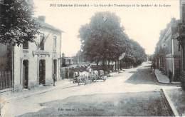 33 - Libourne - La Gare Des Tramways Et Le Boulevard De La Gare - Libourne