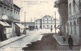 33 - Libourne - Rue Chanzy Et La Cour De La Gare (hotel Loubat) (coiffure) - Libourne