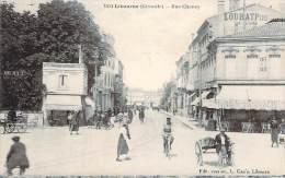 33 - Libourne - Rue Chanzy (hotel Loubat, Café De La Gare) - Libourne