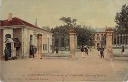 33 - Libourne - Caserne Du 57e D'Infanterie, Quartier Proteau (colorisée, Vernie) - Libourne