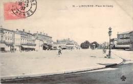33 - Libourne - Place De Cazes - Libourne