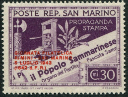 Pays : 421 (Saint-Marin)  Yvert Et Tellier N° :  233 A (*)