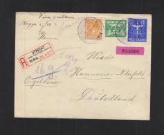 Brief Utrecht 1915 Waarde - 1891-1948 (Wilhelmine)