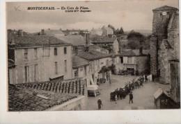 Montournais Un Coin De La Place - France