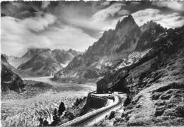 CPSM 74 CHAMONIX LA MER DE GLACE     Grand Format 15 X 10,5 - Chamonix-Mont-Blanc