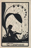 AK SILHOUETTE VERLAG: DEUTSCHEN KULTURDERBANDES IN PRAG  ,SIGNIERT KARTE : WILH.GAREIS ,PRAG,OLD POSTCARD 1934 - Silhouettes