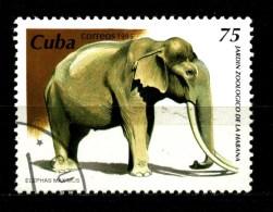 -  CUBA - ELEFANTI - Year 1995 - Timbrato - Stamped - Affranchiè -gestempelt. - Elephants