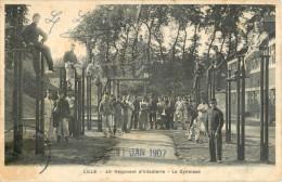 59 LILLE - 43 Eme REGIMENT D INFANTERIE - LE GYMNASE - Lille