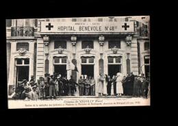 27 BEMECOURT (envs Breteuil) Chateau De Souvilly, Hopital Temporaire N°48 Bis, Remise Médaille Des Epidémies, 1918 - France
