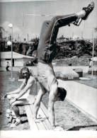 Avant Les J.O. Mexico 1968 - Une Vue Inhabituelle Du Champion Français De Saut à La Perche Hervé D'Encausse, Photo AFP - Olympics