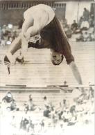 J.O. Mexico 1968 - Le Français Hervé D'Encausse Passant La Barre, Saut à La Perche, Photo AFP - Jeux Olympiques