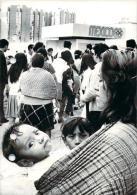 J.O. Mexico 1968 - Queue De Spectateurs Attendant Devant Les Guichets Le Debut De La Vente Des Billets, Photo AFP - Olympics