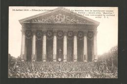 Défilé De La Victoire  La Madeleine - Guerra 1914-18