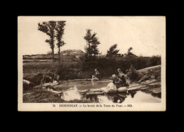 29 - BRIGNOGAN - Le Lavoir - Lavandière - Laveuses - Brignogan-Plage