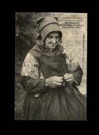 29 - BRIGNOGAN - La Mère Franchic - Tricot - Brignogan-Plage