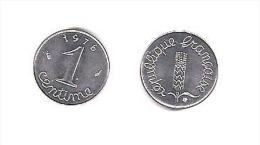 EPI  //  1 Centimes 1976  //  état SPL - Francia