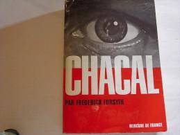 Chacal - The Day Of The Jackal De Frédérick Forsyth Chez Mercure De France. - Historic