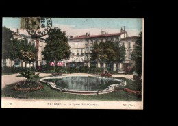 31 TOULOUSE Jardin Public, Square St Georges, Bassin, Colorisée, Ed ND 196, 1918 - Toulouse