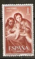 EDIFIL  1253* MLH NAVIDAD 1959 - 1951-60 Nuevos & Fijasellos