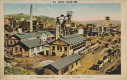 SAINT ETIENNE - Puits Chatelus Et Couriot - Saint Etienne