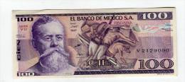 100 PESOS NEUF 5 - Mexique