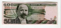 500 PESOS NEUF 5 - Mexico