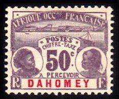 Dahomey Scott   J6 Mint NH VF  -----------* - Dahomey (1899-1944)