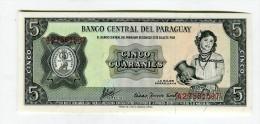 5 GUANANIS NEUF 2 - Paraguay