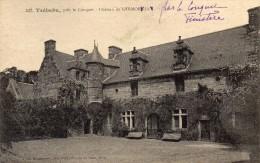 CPA  -  TREBABU  (29)  Près Le Conquet  -  Chateau De KERMORYAN - France