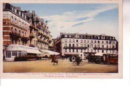 TROUVILLE Place Du Casino Hôtel De La Plage Hôtel Du Helder Hôtel Bellevue - Trouville
